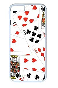 Cards14 Polycarbonate Hard Case Cover For HTC One M8 White