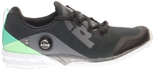 Fusion Grey 0 Mint Zpump 2 Black Running Reebok Shoe Women's HEwBq66C