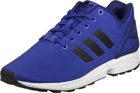 Hombre Adidas Del Zapatilla Negro Cuello Deporte Azul Flux Para De Baja Zx rTrY4z7Ff