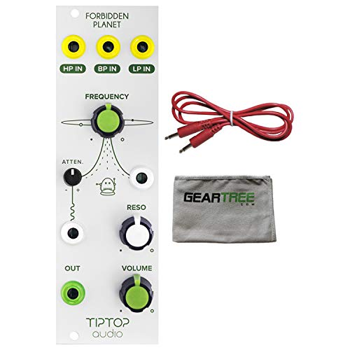 Tiptop Audio Forbidden Planet Analog Filter Eurorack Module w/Cable and Polish