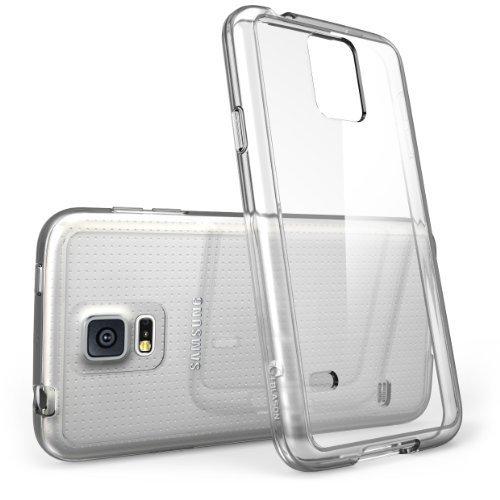 i-Blason Samsung Galaxy S5 Case - Scratch Resistant Hybrid Clear Case / Cover with TPU Bumper