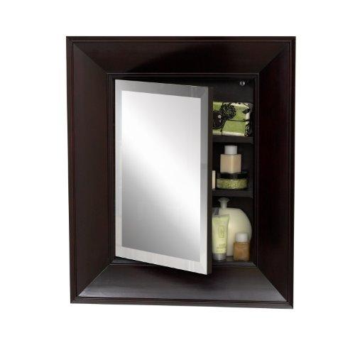 Zenith Cm21chbb Concave Medicine Cabinet Espresso Frame Home Garden Bathroom Accessories Cabinets
