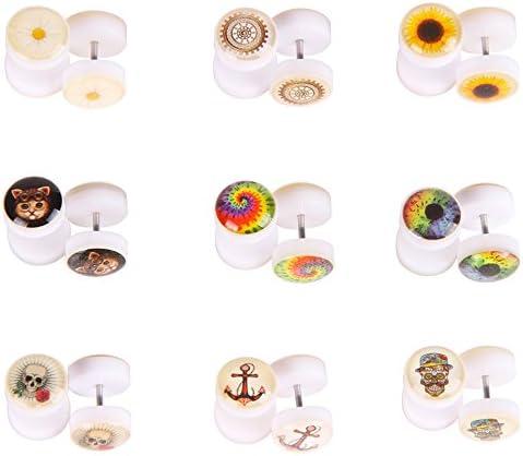 Earrings Gauges Piercing Jewelry Duplicate product image
