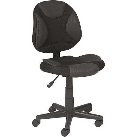 Grey and Black Task Chair (Task Designs Chair Z-line)