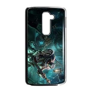 LG G2 Cell Phone Case Black Yorick league of legends Qhcyp