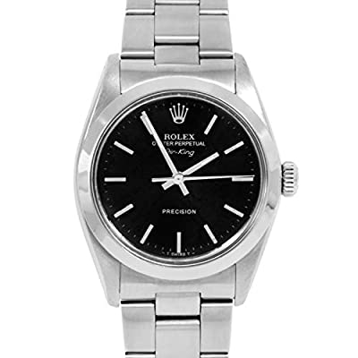 Rolex Air-King Automatic-self-Wind Male Watch 5500 (Certified Pre-Owned) from Rolex