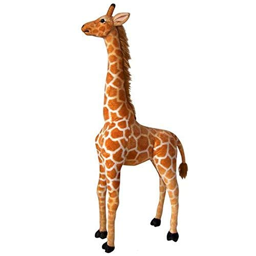 "Adventure Planet Standing Stuffed Giraffe ~ 30.5"" Tall Toy Giraffe ~Soft Cozy Plush ~ Movable Neck"