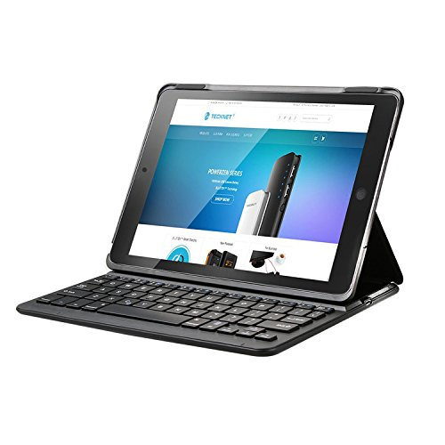 TeckNet iPad Air 2 Keyboard Case, Folio Bluetooth Wireless Keyboard Cover...
