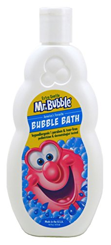 Mr Bubble Bubble Bath Extra Gentle 16 Ounce (473ml) (Cleanser Extra Gentle Hypoallergenic)