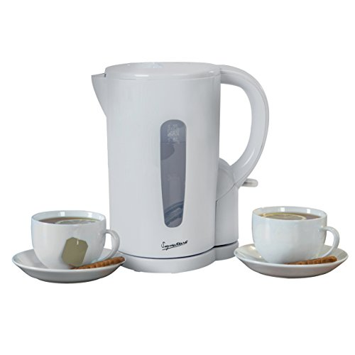 Signature Cordless Jug Kettle, Boil Dry and Overheat Protection, Removable and Washable Filter, 1.7 Litre, White