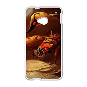 HTC One M7 Cell Phone Case White League of Legends Sandscourge Skarner VB6003974