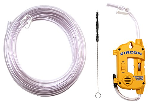 Water Tank Sensor - Zircon Water Level 25 with 25 ft Hose - Electronic Water Level/DIY Indoor and Outdoor Use
