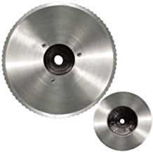Weston Products Meat Slicer Blade Stainless Steel Serrated, Silver