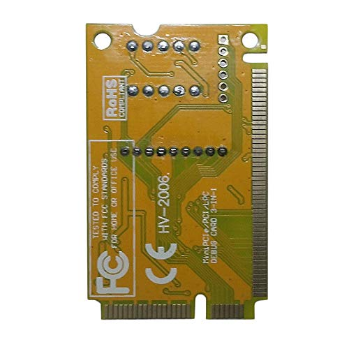 2-Digit Portable Computer PC Mini PCI PCI-E LPC Laptop Analyzer Tester Mother Board Debug Checker Diagnostic Card