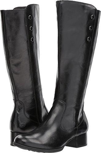 Born Women's Belindah Black Full Grain Leather 6 M - Born Womens Boots