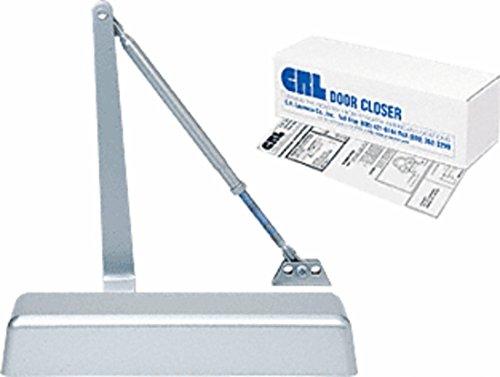CRL PR50 Aluminum Finish Adjustable Spring Power Size 1 - 4 Surface Mount Door Closer by C.R. Laurence (Image #2)