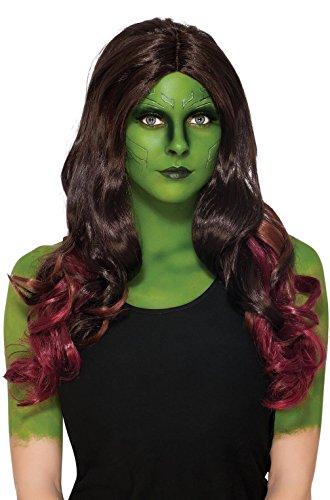 [Gamora Deluxe Wig Costume Accessory] (Deluxe Gamora Costumes)