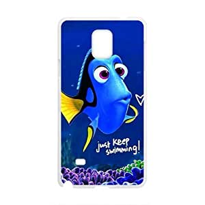 Lovely crystal blue fish Cell Phone Case for Samsung Galaxy Note4