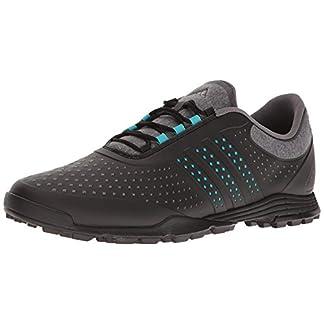 adidas Women's Adipure Sport Golf Shoe, Grey, 10 M US