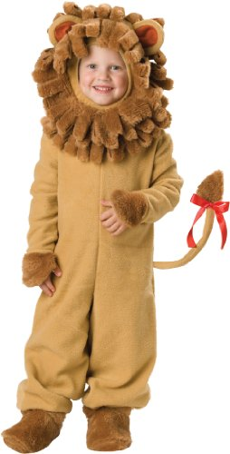 One Year Old Lion Costume (InCharacter Costumes Baby's Lil' Lion Costume, Tan, Medium)