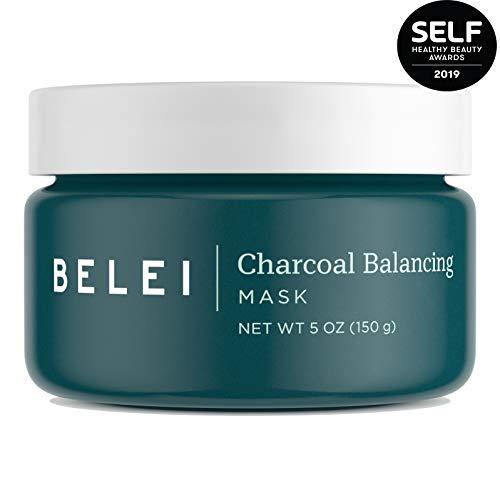 Belei Charcoal Balancing Mask, Fragrance Free, Paraben Free, 5 Ounce (150 g)