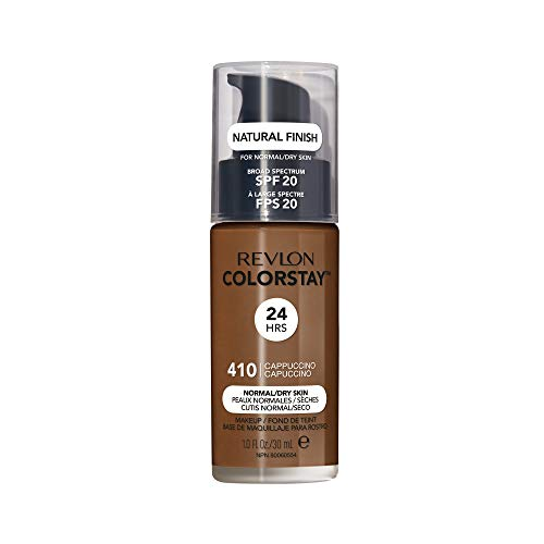 Revlon ColorStay Liquid Foundation For Normal/dry Skin, SPF 20, Cappuccino, 1 Fl Oz