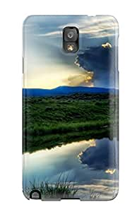 New Style Case Cover IlpjSxJ3781NavAM Earth Landscape Compatible With Galaxy Note 3 Protection Case