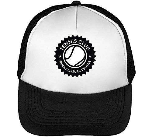Gorras Club Badge Beisbol Sport Negro Blanco Snapback Hombre Tennis t4TEdxqwU