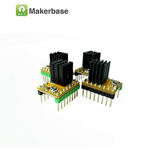 SweetLove.3D 4pcsReprap 3D Printer Ultra Quiet Driver MKS-LV8729 V1.0 Stepper Motor Driver (Datamax Printer Drivers)