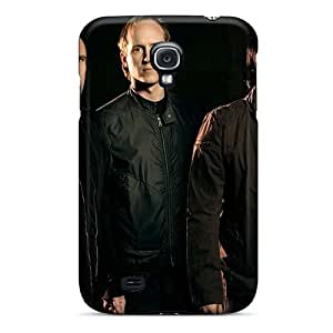 JohnPrimeauMaurice Samsung Galaxy S4 Shock Absorption Hard Phone Cover Custom High-definition 30 Seconds To Mars Band 3STM Pictures [OaR12273AhFE]