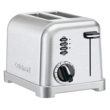 Cuisinart CPT-160FR 2-Slice Metal Classic Toaster (Certified Refurbished)