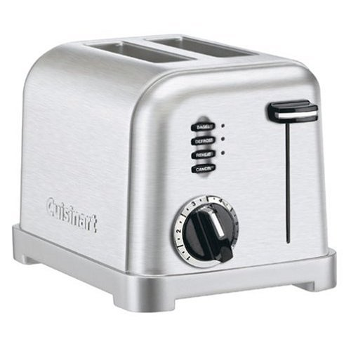 Cuisinart CPT-160FR 2-Slice Metal Classic Toaster (Certified Refurbished)