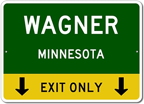 Wagner, Minnesota US - This Exit Only - Custom City for sale  Delivered anywhere in USA