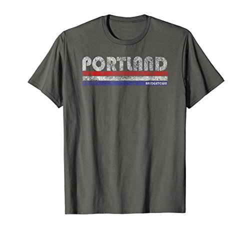 (Vintage Portland OR Bridgetown Throwback T-Shirt)
