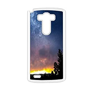 night star sky dark forest personalized high quality cell phone case for LG G3