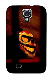 Demon Fashion pc Case For Galaxy S4- Halloween Figure Defender Demon Case Cover For Lovers