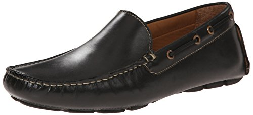 Giorgio Brutini Mens Trey Mocassino Slip-on Nero
