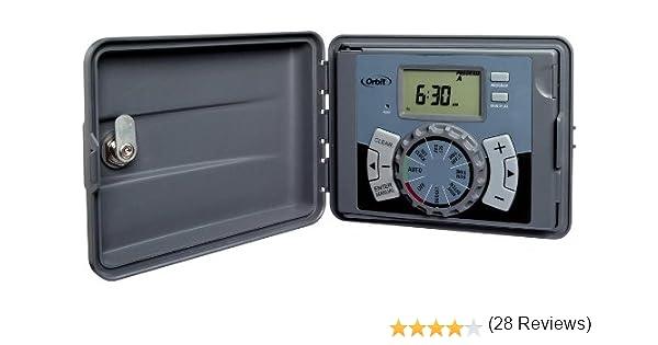Orbit 6 Station Indoor Outdoor Sprinkler Timer Model 27896 Amazon Ca Patio Lawn Garden