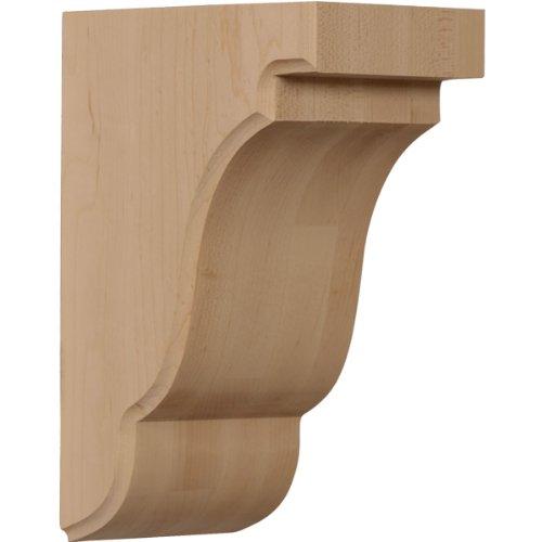 Ekena Millwork BKTW04X05X08BERO  3 1/2-Inch W by 5-Inch D by 7 1/2-Inch H Bedford Bracket, Red Oak