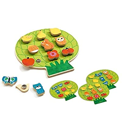 DJECO Clipaclip Wooden Activity Toy: Toys & Games [5Bkhe1106881]