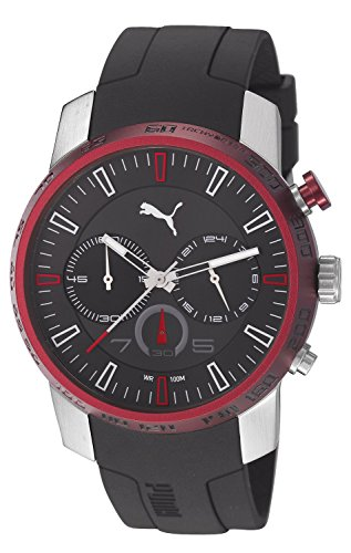 Puma PU103051003 Essence Chrono Silver Black Watch
