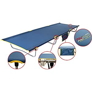 BYER OF MAINE TLC 7000 Ultra Lightweight Cot, Ideal for Camping and Hunting, Byer cots, Lightweight cot, Single