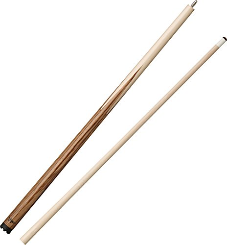 "Viper Sneaky Pete 58"" 2-Piece Zebrawood Billiard/Pool Cue"