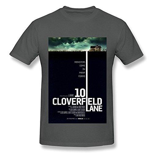 10 Cloverfield Lane 2016 Poster Fashion T Shirt For Men DeepHeather