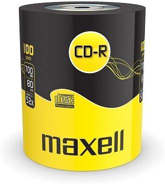 Maxell CD-R 80XL 52x 100 Pack 700 MB 100 Pieza(s) - CD-RW vírgenes ...