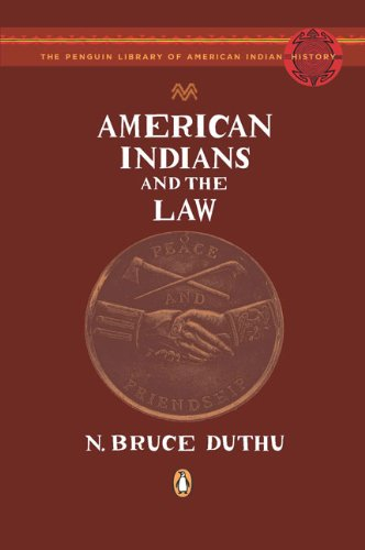 American Indians+The Law