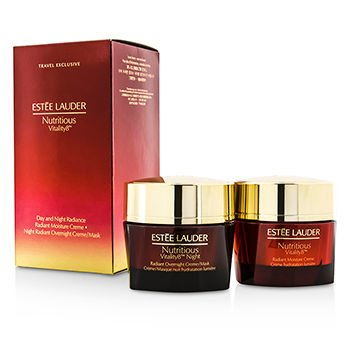 Estee Lauder Nutritious Vitality8 Day and Night Radiance Set, 1.7 Ounce