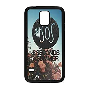 5 seconds of summer High Qulity Customized Cell Phone Case for SamSung Galaxy S5 I9600, 5 seconds of summer Galaxy S5 I9600 Cover Case