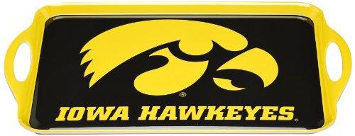 NCAA Iowa Hawkeyes Melamine Serving Tray from BSI
