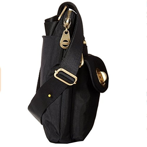 and Perfect Baggallini Purse Shoulder for Functional and Travel Women Black Sydney Bag Khaki Use Highly Crossbody Durable Organizational for Design Great Outfit Any Everyday or Lightweight 11wxPqFr
